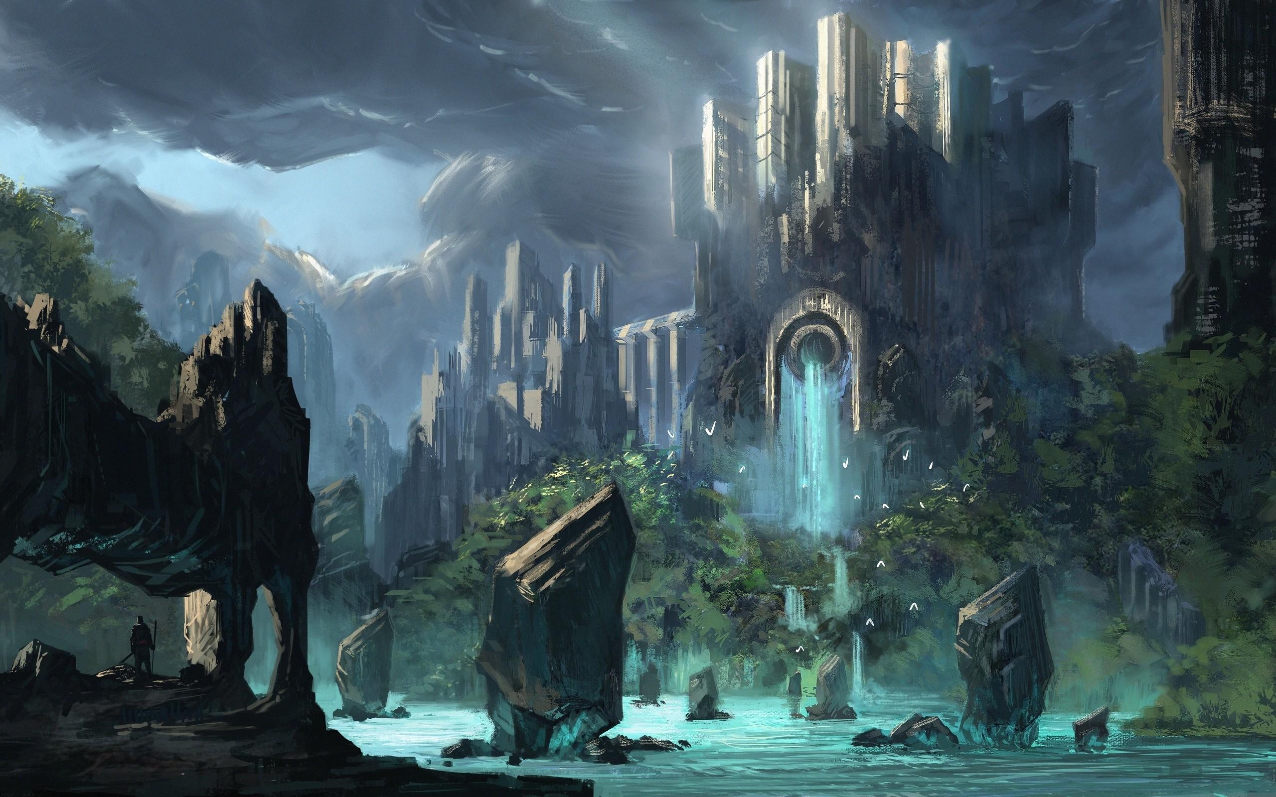 Fantasy softcore scenes