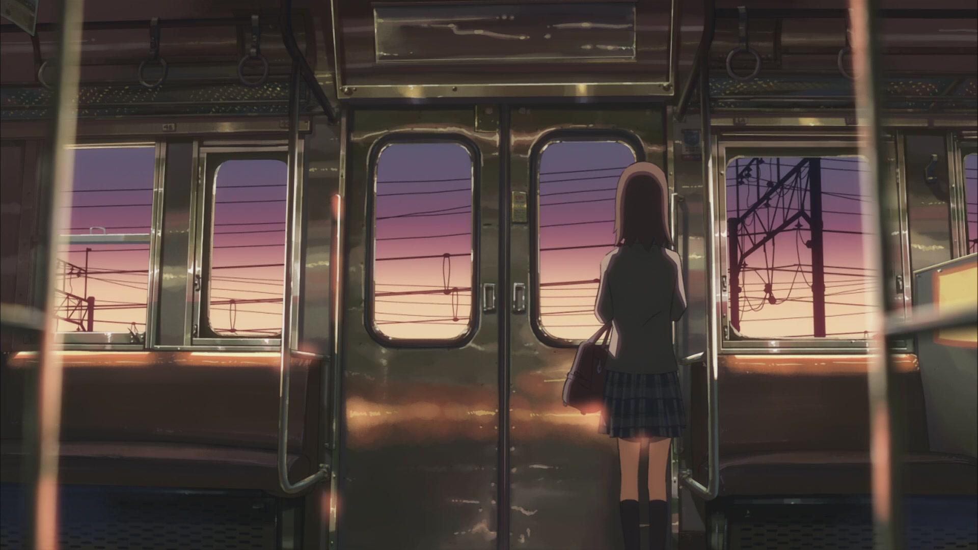 Смотреть онлайн аниме в поезде 6 фотография