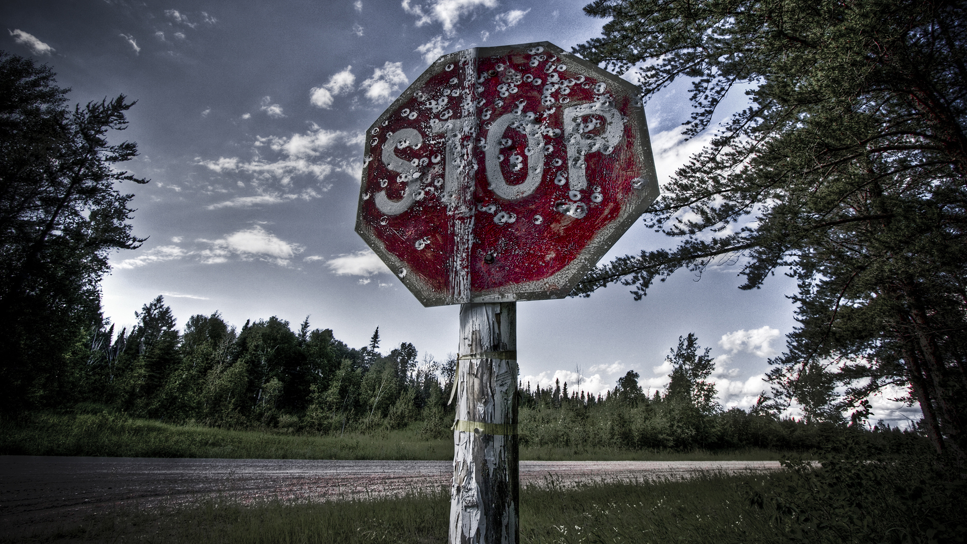 nature, bullet holes, stop signs, sign, sign board - desktop wallpaper