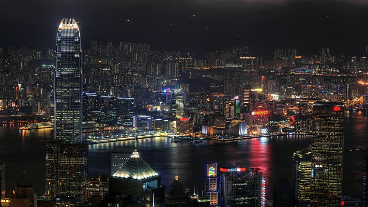 landscapes, Hong Kong, cities - desktop wallpaper