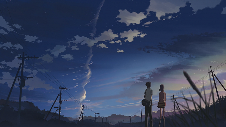 Makoto Shinkai, 5 Centimeters Per Second, anime - desktop wallpaper