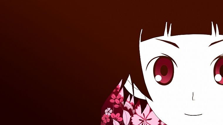 Sayonara Zetsubou Sensei, simple background, Tsunetsuki Matoi - desktop wallpaper