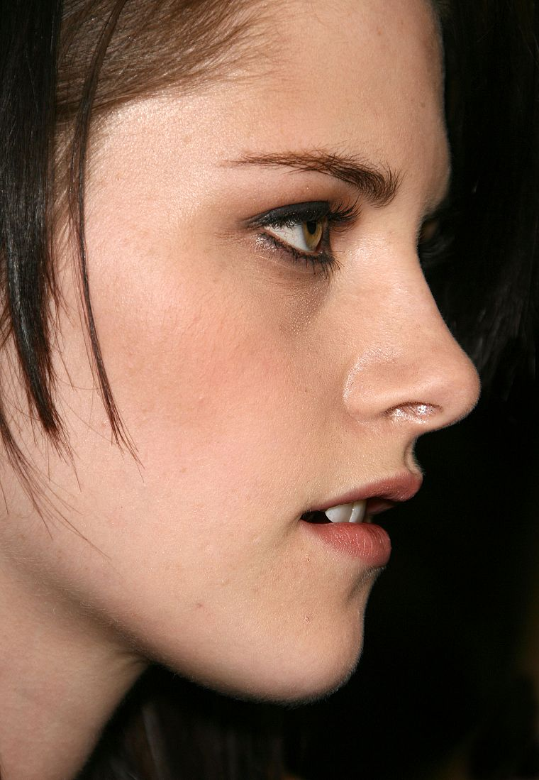 women, Kristen Stewart, actress, celebrity, profile, faces - desktop wallpaper