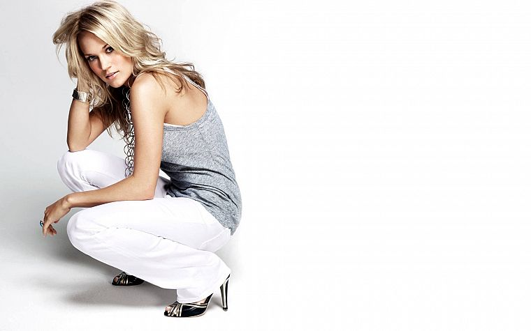 blondes, women, Carrie Underwood, singers - desktop wallpaper