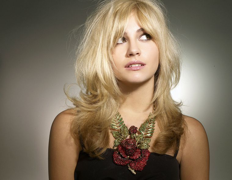 blondes, women, Pixie Lott, singers - desktop wallpaper