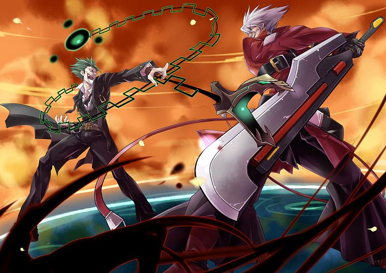 Blazblue, Ragna the Blood Edge - desktop wallpaper