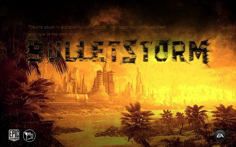 video games, ammunition, Bulletstorm - desktop wallpaper