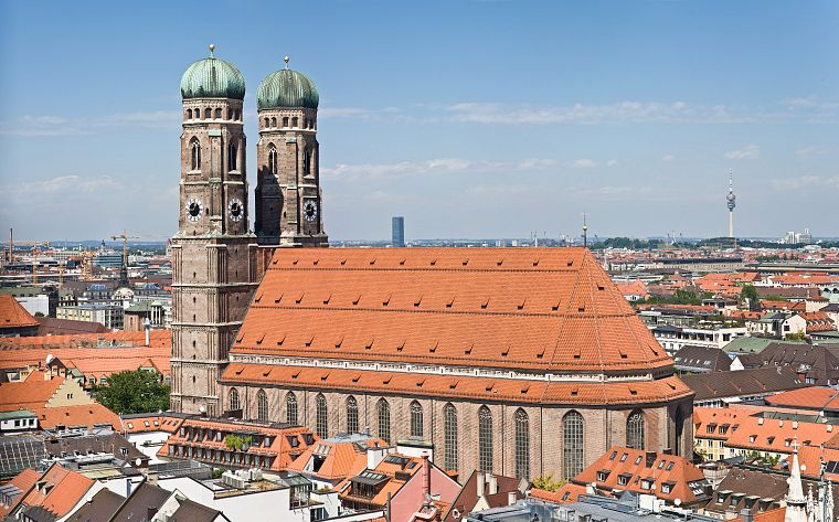 cityscapes, churches, Munich - desktop wallpaper