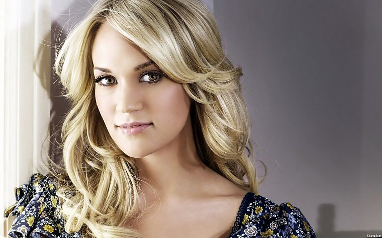 blondes, women, Carrie Underwood - desktop wallpaper