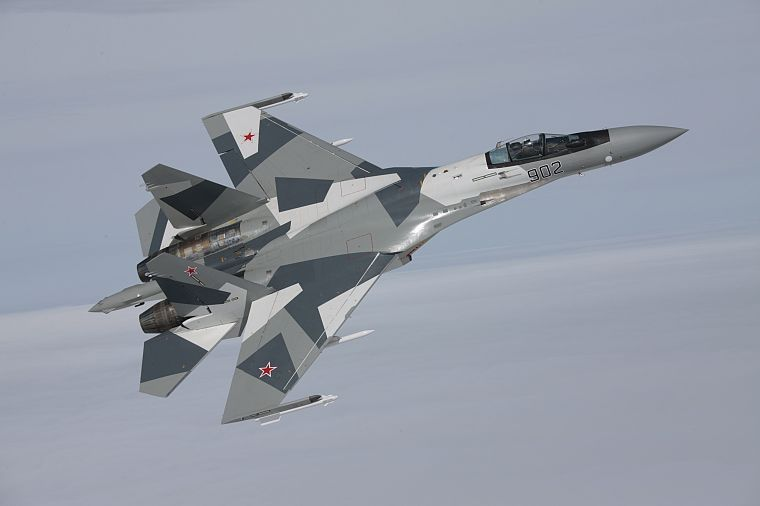 aircraft, Sukhoi, Su-35 Flanker-E - desktop wallpaper