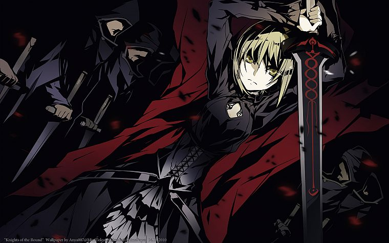 Fate/Stay Night, Saber, Saber Alter, Fate series - desktop wallpaper