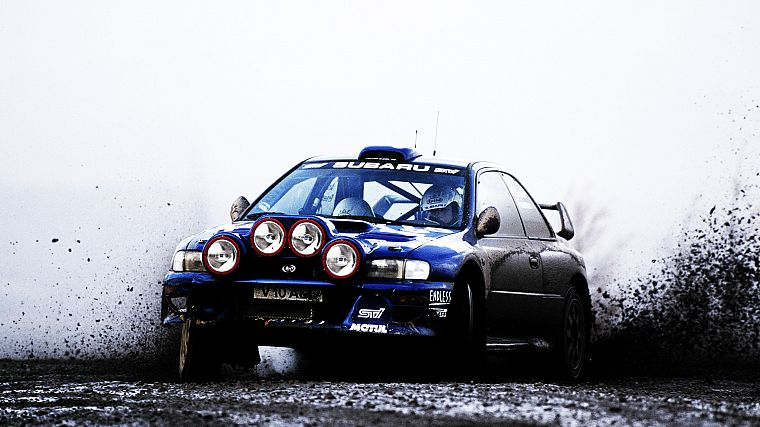 cars, Subaru WRX STI, rally car - desktop wallpaper