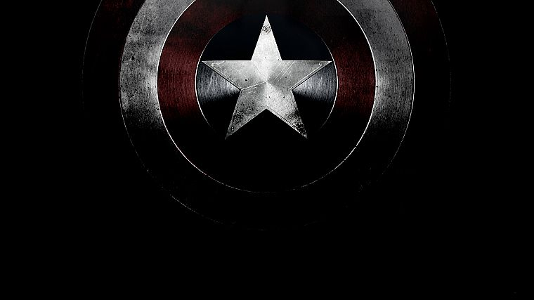 Captain America, shield, Marvel Comics - desktop wallpaper