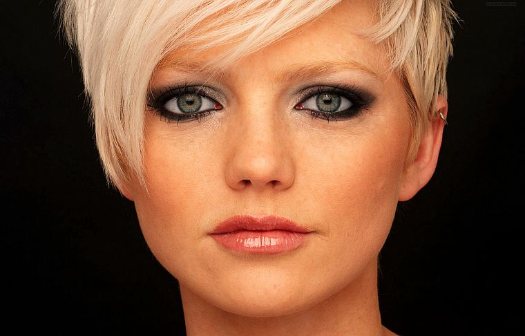blondes, women, singers, Hannah Spearritt, faces - desktop wallpaper
