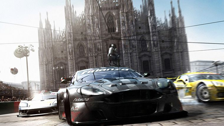 video games, cars, Aston Martin, games - desktop wallpaper
