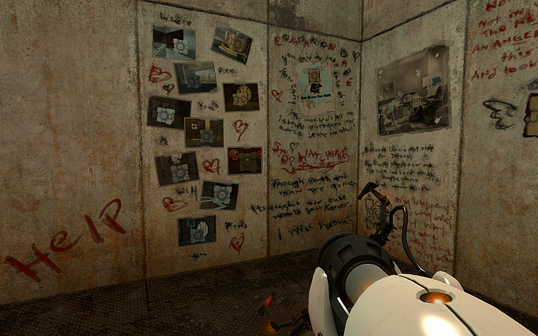 video games, Valve Corporation, Portal, screenshots - desktop wallpaper