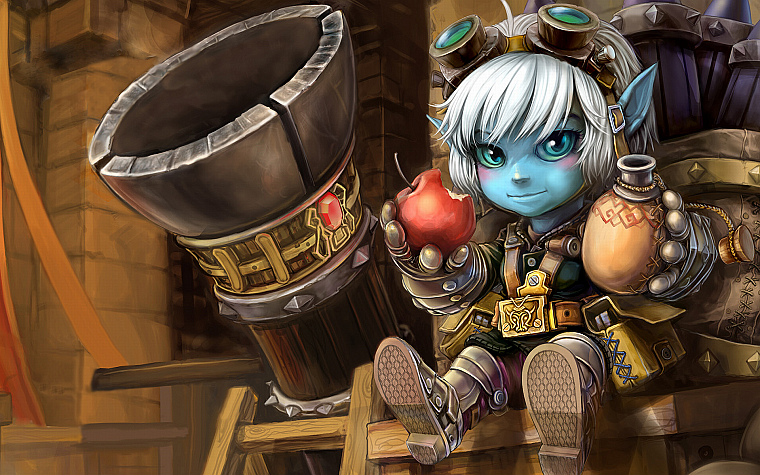 League of Legends, Tristana - desktop wallpaper