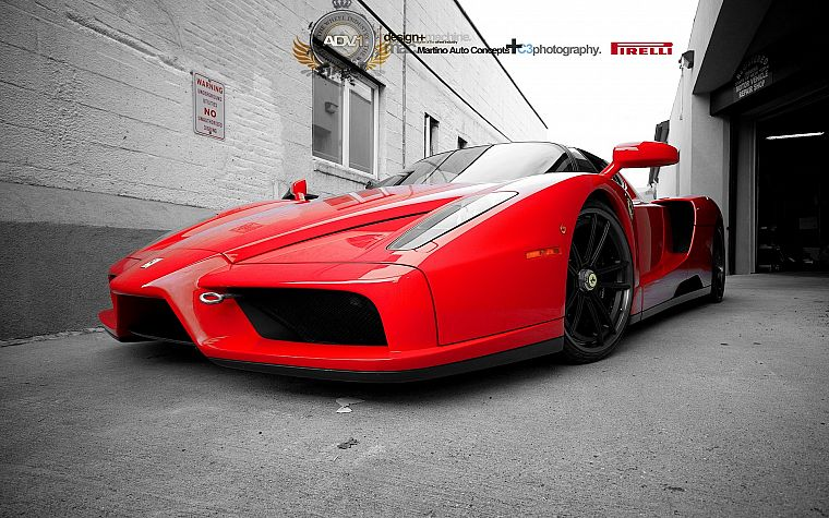 cars, Ferrari Enzo - desktop wallpaper
