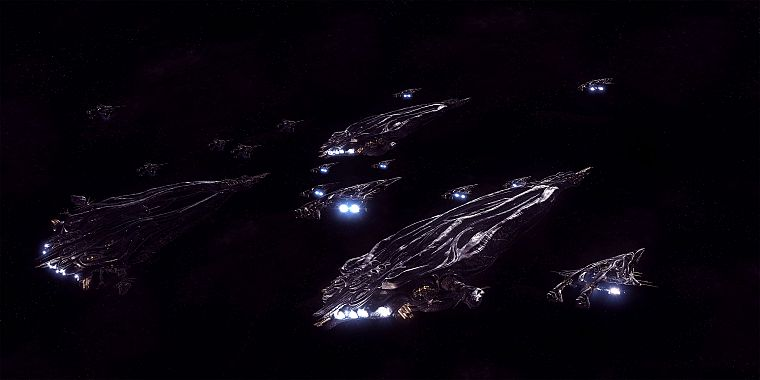 outer space, Stargate Atlantis, spaceships, vehicles - desktop wallpaper