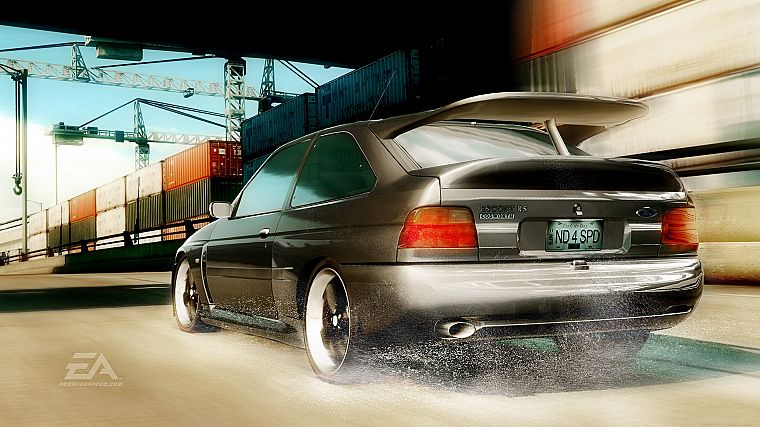 video games, cars, Need for Speed, Need For Speed Undercover, Ford Escort, games, pc games - desktop wallpaper
