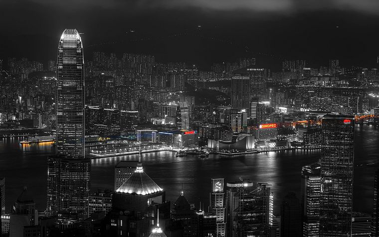 cityscapes, architecture, hands, buildings, Hong Kong - desktop wallpaper