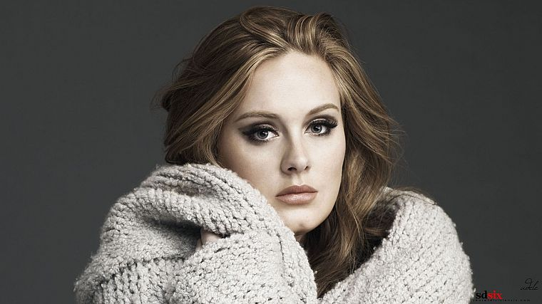 women, models, Adele (singer) - desktop wallpaper