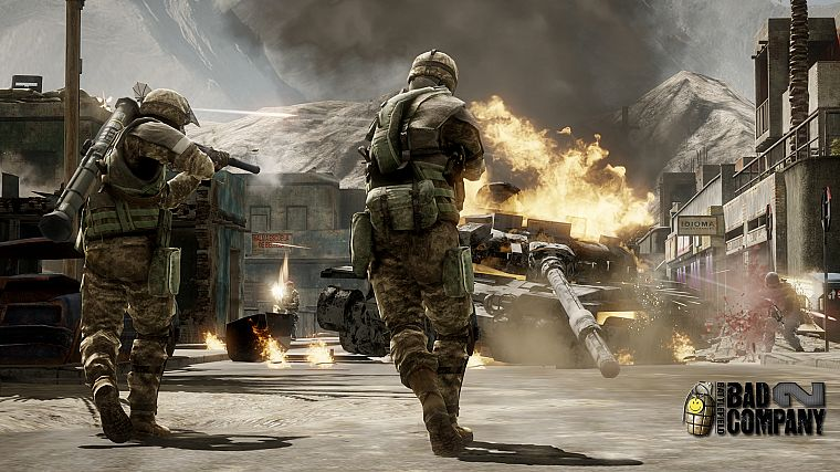 video games, Battlefield, Battlefield Bad Company 2, games - desktop wallpaper