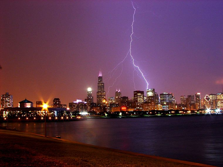 cityscapes, architecture, weather, buildings, lightning - desktop wallpaper