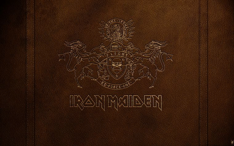 Iron Maiden, Rock music, logos - desktop wallpaper