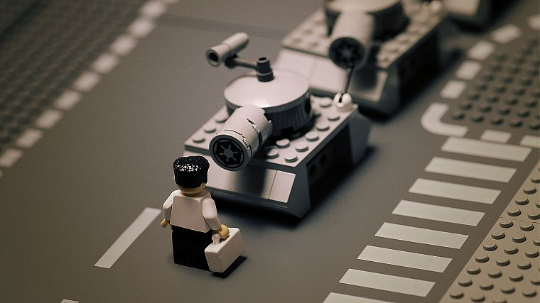 minimalistic, military, tanks, Tiananmen Square, Legos - desktop wallpaper