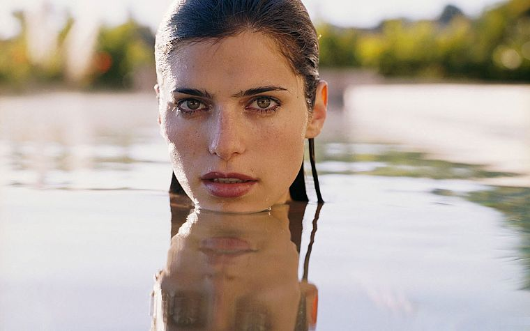 women, Lake Bell - desktop wallpaper