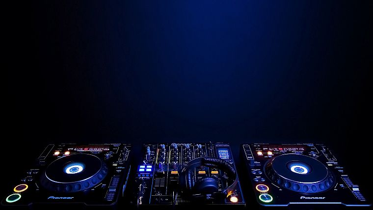 music, audio, DJs - desktop wallpaper