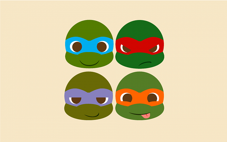 Ninja turtle wallpaper cute