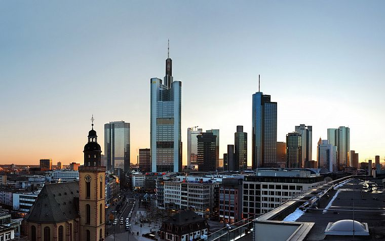cityscapes, frankfurt am main - desktop wallpaper