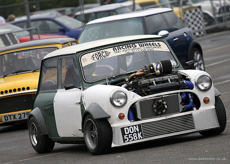 cars, mini cooper, vehicles, tuning, modified, front angle view - desktop wallpaper