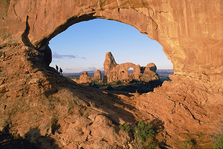 landscapes, Arches National Park, Utah, arches, rock formations - desktop wallpaper
