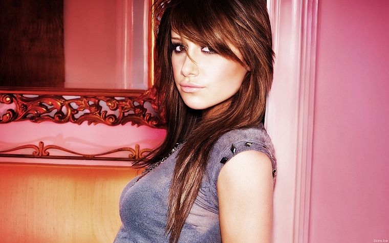 brunettes, women, actress, celebrity, Ashley Tisdale, singers - desktop wallpaper