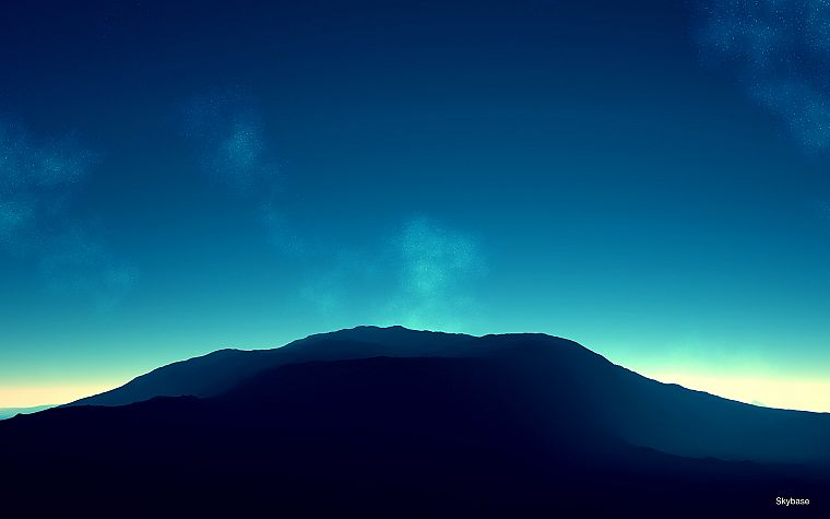 mountains, horizon, skyscapes - desktop wallpaper