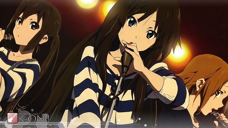 K-ON!, Akiyama Mio, anime - desktop wallpaper