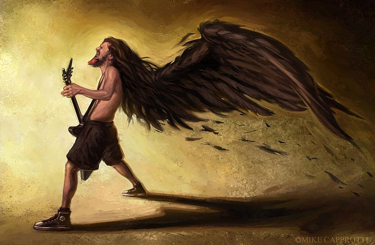 paintings, metal, Pantera music, guitars, dimebag, Dimebag Darrell - desktop wallpaper