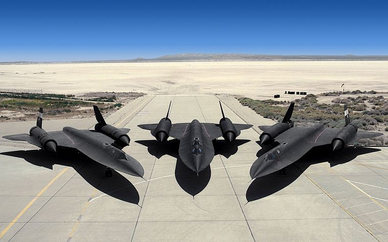 aircraft, stealth, Blackbird, SR-71 Blackbird - desktop wallpaper