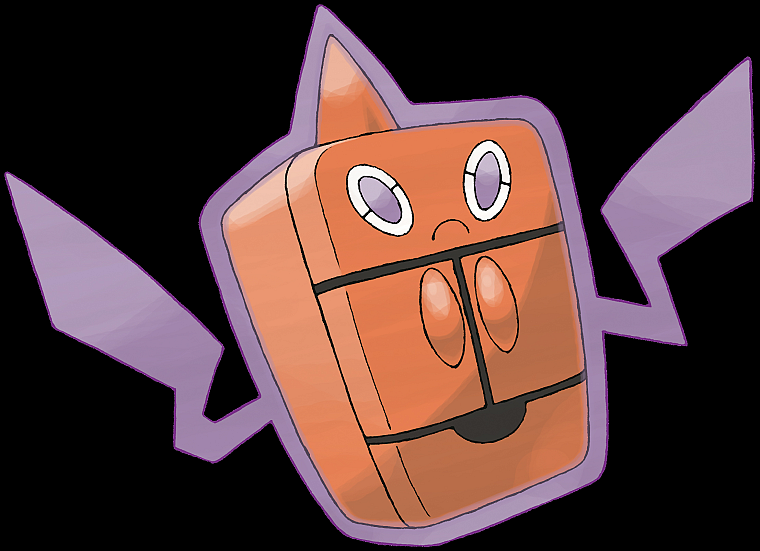 Pokemon, black background, Rotom - desktop wallpaper
