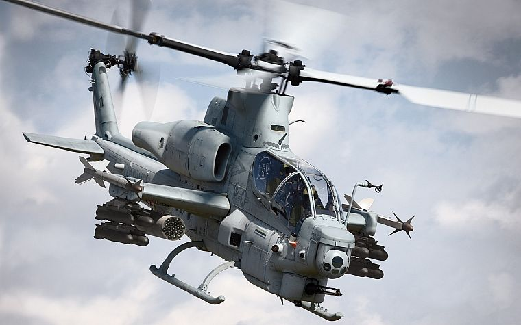 helicopters, vehicles, AH-1 Cobra - desktop wallpaper