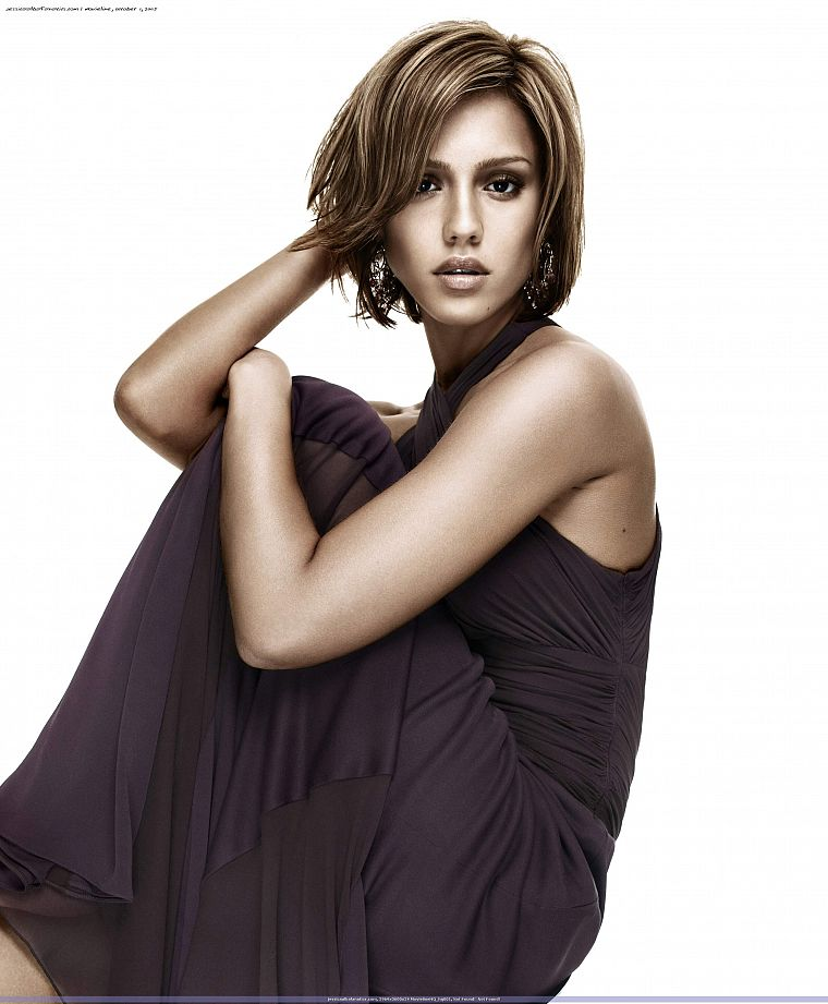 women, dress, Jessica Alba, actress - desktop wallpaper