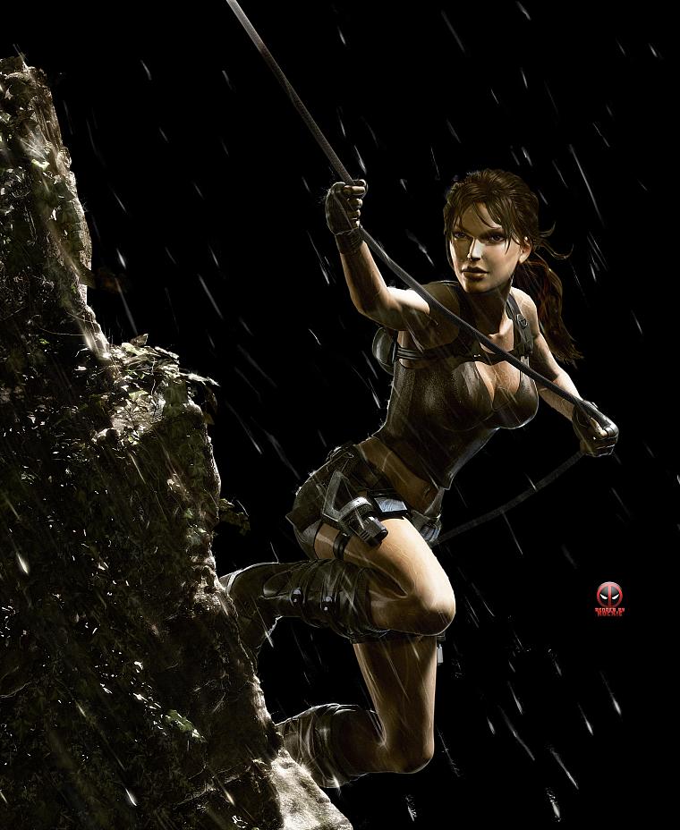 Tomb Rider Wallpaper: Video Games, Tomb Raider, Lara Croft