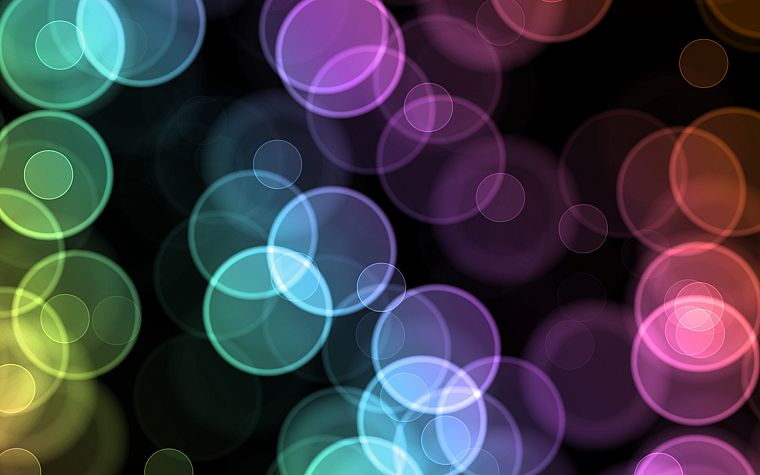 bokeh - desktop wallpaper