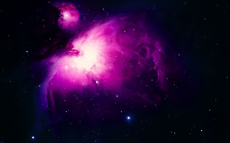 outer space, purple, nebulae - desktop wallpaper