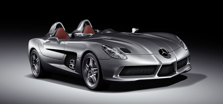 cars, Mercedes-Benz, Mercedes-Benz SLR Stirling Moss - desktop wallpaper