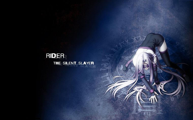 Fate/Stay Night, anime, Rider (Fate/Stay Night), Fate series - desktop wallpaper