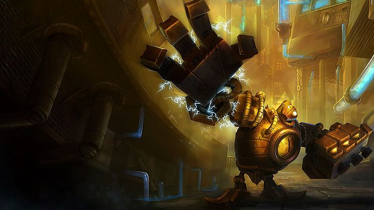 League of Legends, Blitzcrank - desktop wallpaper